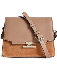 Reiss Rosa Leather Crossbody Bag - Multicolor