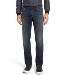 John Varvatos | Bowery Slim Straight Leg Jeans | Lyst