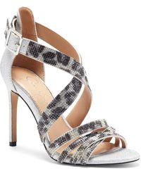 Jessica Simpson Mahley Strappy Sandal - Metallic