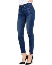 Ayr - The Skinny Split Hem Jeans - Lyst