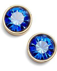 Loren Hope | Bezel Set Stud Earrings | Lyst