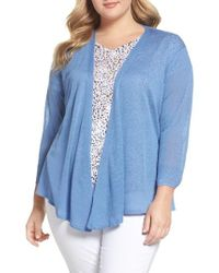 NIC+ZOE | Four-way Convertible Cardigan | Lyst