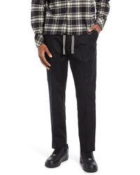 Zanerobe Jumpa Men's Drawstring Chino Pants - Black