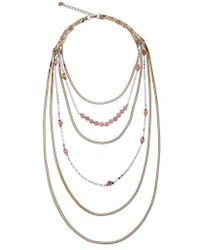 Nakamol - Layered Snake Chain Necklace - Lyst