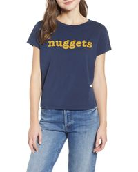 Mother - The Boxy Goodie Goodie Supima Cotton Tee - Lyst