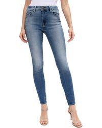 Fidelity Ankle Skinny Jeans - Blue