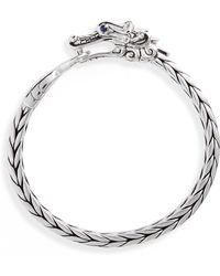 John Hardy Legends Naga Sterling Silver Bracelet - Metallic