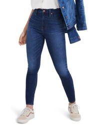 Madewell - Curvy High Waist Skinny Jeans - Lyst