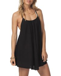 Rip Curl - Surf Essentials Cover-up Dress - Lyst