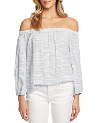 94fc20db403150 Lyst - Chelsea28 Nordstrom Off The Shoulder Top in White