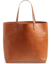 Madewell The Transport Leather Tote - Brown