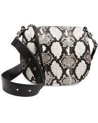 AllSaints Round Leather Crossbody Bag - Multicolor