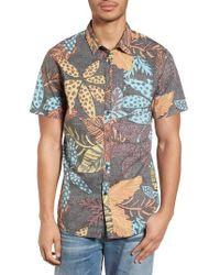 Billabong - Sundays Floral Shirt - Lyst