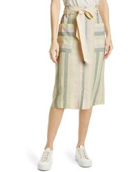 Rails Gelina Stripe Tie Waist Skirt - Multicolor