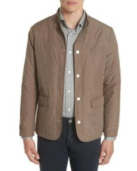 Eleventy - Quilted Jacket - Lyst
