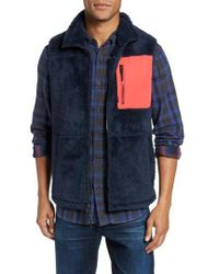 Surfside Supply | Colorblock Fleece Vest | Lyst