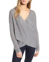 Chelsea28 - Cross Front Sweater - Lyst
