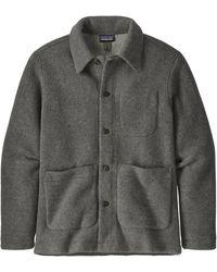 Patagonia Woolie Chore Coat - Gray