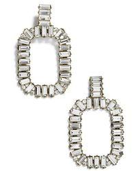 BaubleBar - Gena Crystal Statement Earrings - Lyst