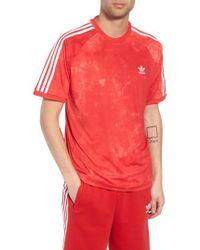 adidas Originals - Hu Holi Soccer T-shirt - Lyst