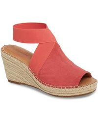 Gentle Souls - By Kenneth Cole Colleen Espadrille Wedge - Lyst