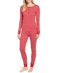 Vineyard Vines - Santa Whale Pima Cotton Pajamas - Lyst