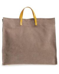 Clare V. - Simple Suede Tote - - Lyst