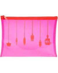 MYTAGALONGS Tech Pouch - Pink