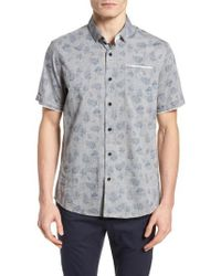 Descendant Of Thieves - Rock Steady Woven Shirt - Lyst