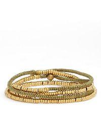 Serefina | Heishi Wrap Bracelet | Lyst