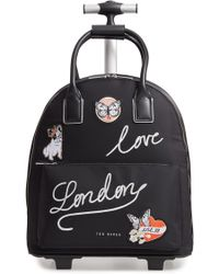 Ted Baker - Sheeaa Slogan Travel Bag - Lyst