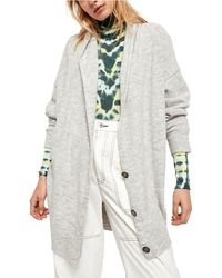 Free People Eucalyptus Cardigan - Gray