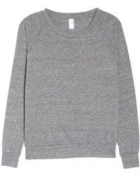 Alternative Apparel - Slouchy Pullover - Lyst