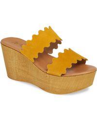 Matisse Charlie Slide Sandal - Yellow