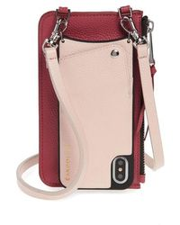 Bandolier - Emma Leather Iphone X & Xs Crossbody Case - - Lyst