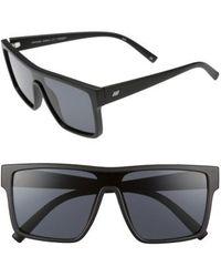 Le Specs - Minimal Magic 54mm Mirror Sunglasses - Lyst