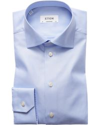 Eton of Sweden - Contemporary Fit Cavalry Twill Dress Shirt - Lyst