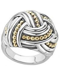Lagos - Torsade Large Rounded Rectangle Ring - Lyst