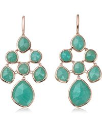 Monica Vinader - Siren Semiprecious Chandelier Drop Earrings - Lyst