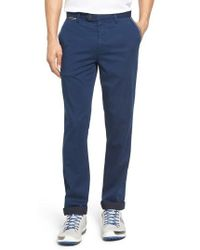 Ted Baker - Water Resistant Golf Chinos - Lyst