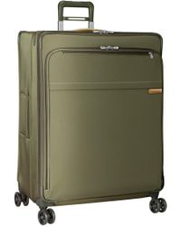 Briggs & Riley 'baseline' Extra Large 31-inch Expandable Spinner - Green