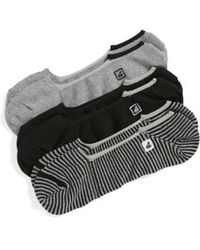 Sperry Top-Sider - Skimmers Feed Assorted 3-pack Socks - Lyst