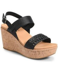 Kork-Ease - Kork-ease Austin Braid Wedge Sandal - Lyst