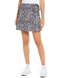 BP. - Wrap Miniskirt - Lyst