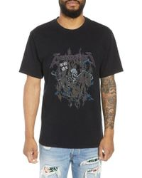 The Kooples - Fire Walk With Me Graphic T-shirt - Lyst
