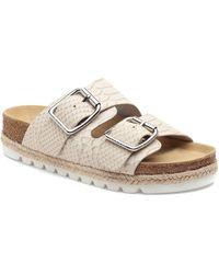 J/Slides Leighton Slide Sandal - White