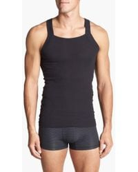 2xist - 2-pack Cotton Tank Top, Black - Lyst