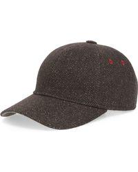 d086e648 Ted Baker Norden Baseball Cap in Gray for Men - Lyst