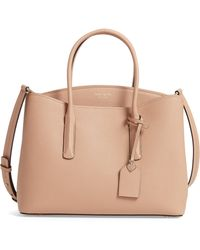 Kate Spade - Large Margaux Leather Satchel - Lyst