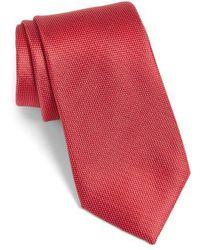 Calibrate - Rawson Solid Silk Tie - Lyst